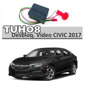 Desboqueio Dvd Interface De Tela Multimidia Honda Civic 2017