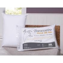Travesseiro Naturalle Percal 200 Fios 100% Algodão 70 X 50cm