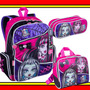 Kit Mochila G Lancheira Estojo Monster High 15z Sestini