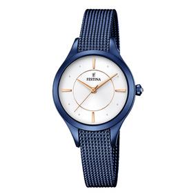 99b174f1ee6d Reloj Festina F16424 Azul - Relojes Festina de Mujeres en Mercado ...