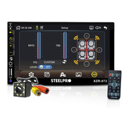 Autoestereo Doble Din Steelpro 072 Bluetooth Mirror Link Cam