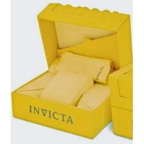 Caixa Para Relógio Invicta (grande)+ Certificado+manual+card