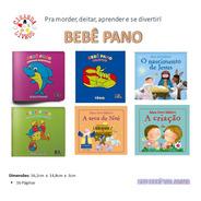 Biblioteca Do Bebê/ 6 Livros De Pano Para O Bebê