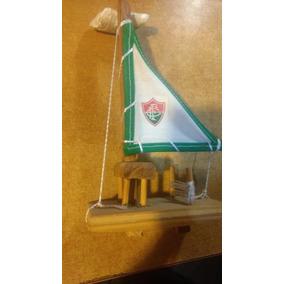 Jangada Minuatura - Fluminense (madeira)