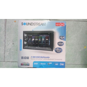 Soundstream Pantalla Doble Din Touch Bluetooth Usb Aux Dvd