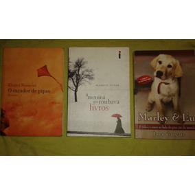 Livro. Menina Que Roubava Livros/marley&eu/caçador Pipas. L8