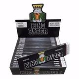 Kit 5 Caixa Seda Smoking King Paper White Mini