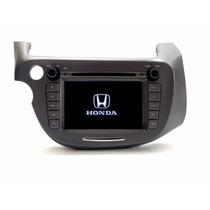 Kit Central Multimídia Original Honda Fit 09 ,dvd Tv Gps Usb