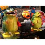 3 Robot Retro Creature Black Lagoon Godzilla King Kong 70s!!