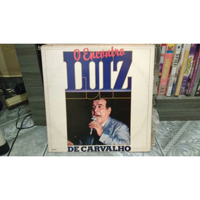 Lp Vinil Luiz De Carvalho - O Encontro (raro Com Encarte)
