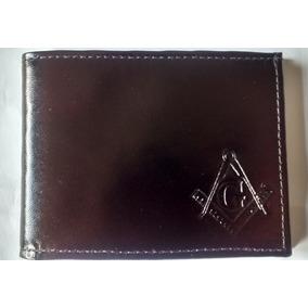 Carteira Maçônica Porta Cédulas Preto