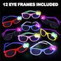 Gafas Artcreativitytm Nerd Glasses With Flashing Bow