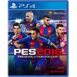 Pes 18 Ps4 Digital Español Pro Evolution Soccer 2018