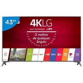 Smart Tv Led 43 Lg 4k/ultra Hd 43uj6565 Webos