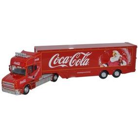 176 Oxford Diecast Coca Cola T Box Tráiler