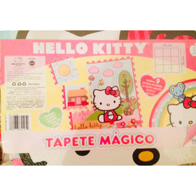 Hello Kitty Alfombra De Foami Rompecabezas Para Niñas