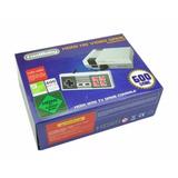 Mini Consola De Juegos Clasicos Nes Hdmi 600 Juegos