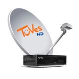 Kit Satelital Tuves 1 Deco + 12 Meses Plan Tv