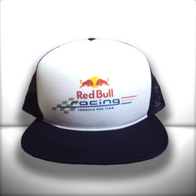 Boné Red Bull Racing F1 Aba Reta Azul Trucker Frete Grátis 1f1871034ef