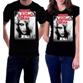 Camiseta A Noite Dos Mortos Vivos George Romero Zumbi 1968