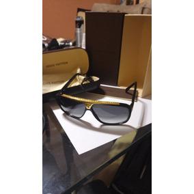 Óculos Sol Masculino Louis Vuitton Preto Evidence Original