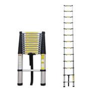 Escada Telescópica De Alumínio Multifuncional 13 Degraus