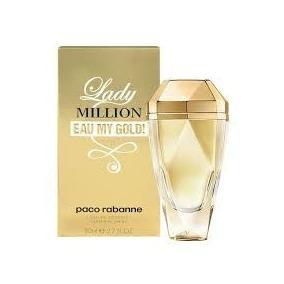 Perfume Lady Million Eau My Gold! Paco Rabanne Edt 80ml