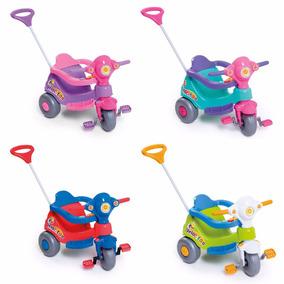 Carrinho De Passeio Triciclo Infantil Velocita Calesita