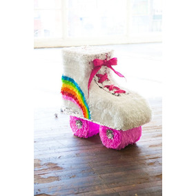 Dulceros Mini Piñatas De Patin Soy Luna