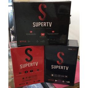 Smart Box Super.tv Android 6.0 Smart Tv 4k, Netflix, Youtube