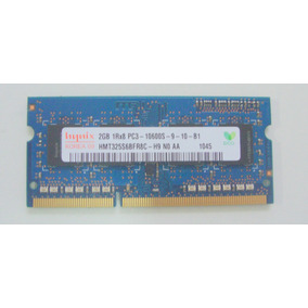 Memoria 2gb Ddr3 10600s Notebook Dell Inspiron N5010 / P10f