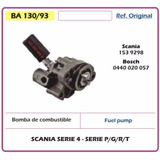 Bomba De Combustible Scania Serie 4 - 15392982 Cmd Dmb