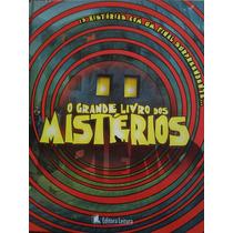 Livro: O Grande Livro Dos Mistérios - Leitura - Capa Dura