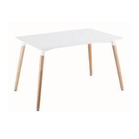 mesa comedor mdf base madera by prombel