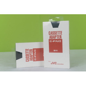 Adaptador Fita Video Cassette Vhs-c Jvc C-p7u Ii Lacrado !
