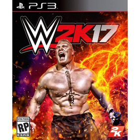 Wwe 2k17 - Original - [* Jogos Ps3 Psn Play3 *]
