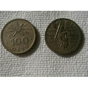 Moedas De 100 Réis, 1932 Reverso Invertido