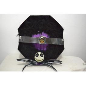 Jack Skellington Corona Halloweenavideña Plumas Negras