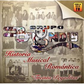 Cd Grupo Bryndis Historia Musical Romantica Treinta Pegadita