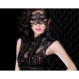 Mascara Sex Renda Baile Fantasia Erótica Carnaval Kit C 3 Un