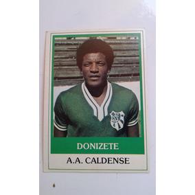 Ping Pong Futebol Cards Donizete Caldense Nº 481