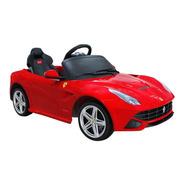 Carrito Ferrari F12 Rojo Bateria Motor 12v Control Remoto