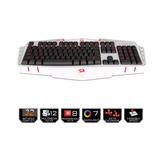 Redragon Asura K501w Gamer Teclado De Membrana Alámbrico