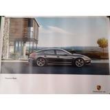 Poster Afiche Auto Porsche Panamera Diesel 2013 Original De