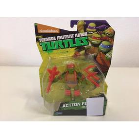 Tartarugas Ninja Figura Ação 12 Cm - Mystic Michelangelo *