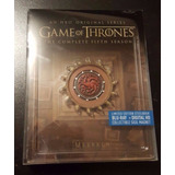 Game Of Thrones Bluray Temporada 5 Steelbook Limited Edition