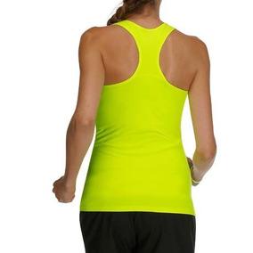 Musculosa Algodon Mujer Importada Gap Amarilla Fluo