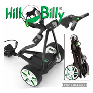 Kaddygolf Hill Billy Uk Carro Eléctrico Golf #1 Bat Litio