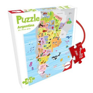 Puzzle Argentina 36 Piezas - Rompecabezas Argentina Niños