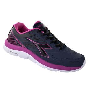Tênis Feminino Diadora Speed Sl W 125511-c0729 Azul/rosa